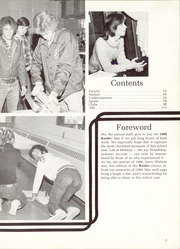 Page 7, 1980 Edition, Midway High School - Raider Yearbook (Dunn, NC) online yearbook collection