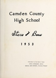 Page 7, 1953 Edition, Camden County High School - Stars and Bars Yearbook (Camden, NC) online yearbook collection