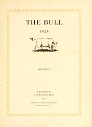 Page 7, 1929 Edition, Johnson C Smith University - Golden Bull Yearbook (Charlotte, NC) online yearbook collection