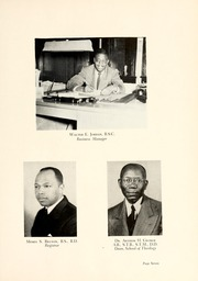 Page 11, 1950 Edition, Johnson C Smith University - Golden Bull Yearbook (Charlotte, NC) online yearbook collection