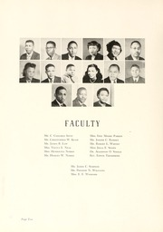 Page 14, 1950 Edition, Johnson C Smith University - Golden Bull Yearbook (Charlotte, NC) online yearbook collection
