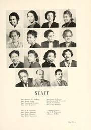 Page 15, 1950 Edition, Johnson C Smith University - Golden Bull Yearbook (Charlotte, NC) online yearbook collection