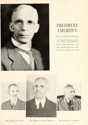 Page 9, 1950 Edition, Johnson C Smith University - Golden Bull Yearbook (Charlotte, NC) online yearbook collection