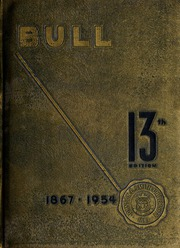 Page 1, 1954 Edition, Johnson C Smith University - Golden Bull Yearbook (Charlotte, NC) online yearbook collection