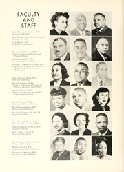 Page 12, 1954 Edition, Johnson C Smith University - Golden Bull Yearbook (Charlotte, NC) online yearbook collection