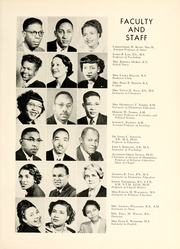 Page 13, 1954 Edition, Johnson C Smith University - Golden Bull Yearbook (Charlotte, NC) online yearbook collection