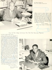 Page 14, 1966 Edition, Johnson C Smith University - Golden Bull Yearbook (Charlotte, NC) online yearbook collection