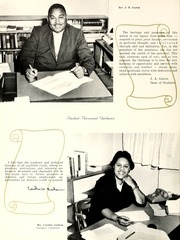 Page 16, 1966 Edition, Johnson C Smith University - Golden Bull Yearbook (Charlotte, NC) online yearbook collection