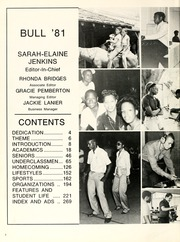 Page 6, 1981 Edition, Johnson C Smith University - Golden Bull Yearbook (Charlotte, NC) online yearbook collection