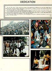 Page 8, 1981 Edition, Johnson C Smith University - Golden Bull Yearbook (Charlotte, NC) online yearbook collection