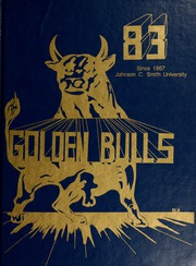 1983 Edition, Johnson C Smith University - Golden Bull Yearbook (Charlotte, NC)