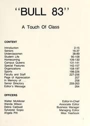 Page 5, 1983 Edition, Johnson C Smith University - Golden Bull Yearbook (Charlotte, NC) online yearbook collection