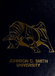 1988 Edition, Johnson C Smith University - Golden Bull Yearbook (Charlotte, NC)