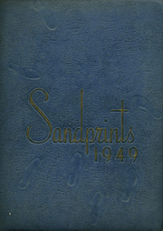 Page 1, 1949 Edition, Sanford Central High School - Sandprints Yearbook (Sanford, NC) online yearbook collection