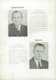 Page 10, 1949 Edition, Sanford Central High School - Sandprints Yearbook (Sanford, NC) online yearbook collection