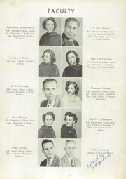 Page 11, 1949 Edition, Sanford Central High School - Sandprints Yearbook (Sanford, NC) online yearbook collection