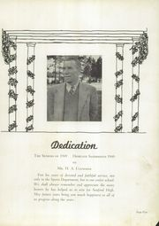 Page 9, 1949 Edition, Sanford Central High School - Sandprints Yearbook (Sanford, NC) online yearbook collection
