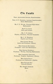 Page 16, 1913 Edition, Central High School - Snips and Cuts Yearbook (Charlotte, NC) online yearbook collection