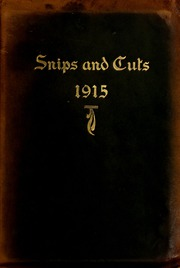 Page 1, 1915 Edition, Central High School - Snips and Cuts Yearbook (Charlotte, NC) online yearbook collection