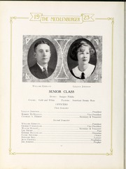Page 16, 1923 Edition, Central High School - Snips and Cuts Yearbook (Charlotte, NC) online yearbook collection