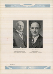 Page 14, 1933 Edition, Central High School - Snips and Cuts Yearbook (Charlotte, NC) online yearbook collection