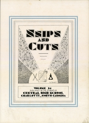 Page 3, 1933 Edition, Central High School - Snips and Cuts Yearbook (Charlotte, NC) online yearbook collection