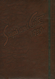 Page 1, 1939 Edition, Central High School - Snips and Cuts Yearbook (Charlotte, NC) online yearbook collection