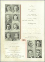 Page 16, 1939 Edition, Central High School - Snips and Cuts Yearbook (Charlotte, NC) online yearbook collection