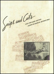 Page 5, 1939 Edition, Central High School - Snips and Cuts Yearbook (Charlotte, NC) online yearbook collection
