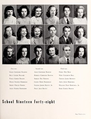 Page 101, 1948 Edition, Central High School - Snips and Cuts Yearbook (Charlotte, NC) online yearbook collection