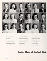 Page 102, 1948 Edition, Central High School - Snips and Cuts Yearbook (Charlotte, NC) online yearbook collection