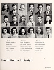 Page 103, 1948 Edition, Central High School - Snips and Cuts Yearbook (Charlotte, NC) online yearbook collection