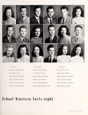 Page 105, 1948 Edition, Central High School - Snips and Cuts Yearbook (Charlotte, NC) online yearbook collection