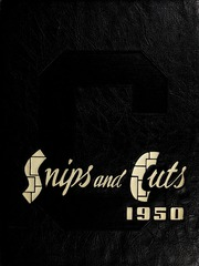 Central High School - Snips and Cuts Yearbook (Charlotte, NC) online yearbook collection, 1950 Edition, Page 1