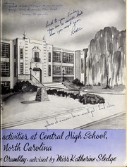 Page 7, 1950 Edition, Central High School - Snips and Cuts Yearbook (Charlotte, NC) online yearbook collection