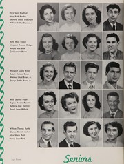 Page 24, 1951 Edition, Central High School - Snips and Cuts Yearbook (Charlotte, NC) online yearbook collection
