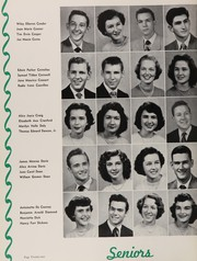 Page 26, 1951 Edition, Central High School - Snips and Cuts Yearbook (Charlotte, NC) online yearbook collection