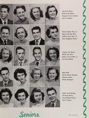 Page 29, 1951 Edition, Central High School - Snips and Cuts Yearbook (Charlotte, NC) online yearbook collection