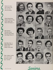 Page 32, 1951 Edition, Central High School - Snips and Cuts Yearbook (Charlotte, NC) online yearbook collection