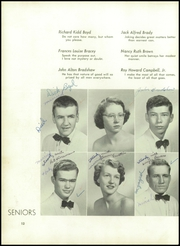 Page 16, 1954 Edition, Boyden High School - Echo Yearbook (Salisbury, NC) online yearbook collection