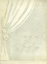 1958 Edition, Boyden High School - Echo Yearbook (Salisbury, NC)