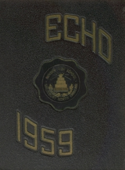 1959 Edition, Boyden High School - Echo Yearbook (Salisbury, NC)