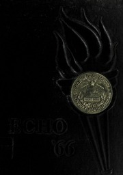 1966 Edition, Boyden High School - Echo Yearbook (Salisbury, NC)