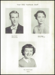 Page 7, 1952 Edition, Hudson High School - Hornet Yearbook (Hudson, NC) online yearbook collection