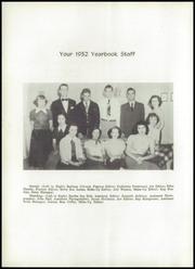Page 8, 1952 Edition, Hudson High School - Hornet Yearbook (Hudson, NC) online yearbook collection