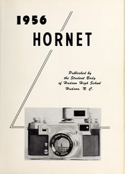 Page 5, 1956 Edition, Hudson High School - Hornet Yearbook (Hudson, NC) online yearbook collection