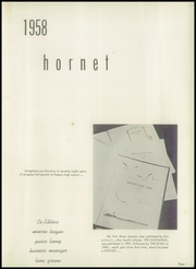 Page 5, 1958 Edition, Hudson High School - Hornet Yearbook (Hudson, NC) online yearbook collection