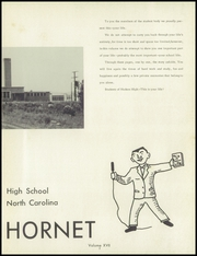 Page 7, 1960 Edition, Hudson High School - Hornet Yearbook (Hudson, NC) online yearbook collection