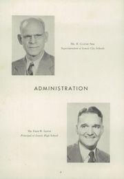 Page 10, 1949 Edition, Lenoir High School - Bearcat Yearbook (Lenoir, NC) online yearbook collection