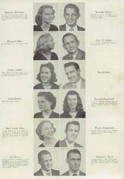 Page 15, 1949 Edition, Lenoir High School - Bearcat Yearbook (Lenoir, NC) online yearbook collection